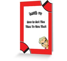 Oak's Tip - You Can't Use That! Greeting Card