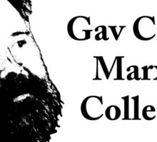 Gav Cross's Marxist Collective Sticker