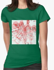 Abstract 135 Womens Fitted T-Shirt