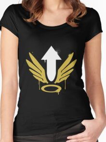 Heroes never die Women's Fitted Scoop T-Shirt