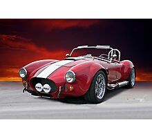 1965 Shelby Cobra 'Fire in the Sky' I Photographic Print