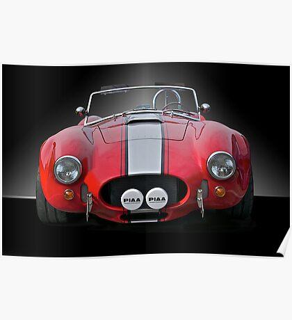 1965 Shelby Cobra II Poster