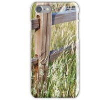 Golden Fence iPhone Case/Skin