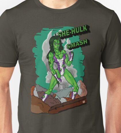 She-Hulk Smash! Unisex T-Shirt