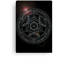 Fullmetal Alchemist transmutation circle Canvas Print