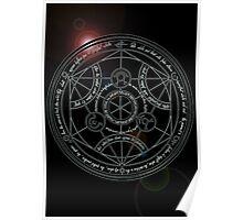 Fullmetal Alchemist transmutation circle Poster