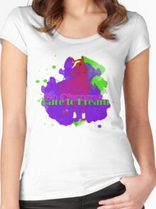Go Chrome, Dare to Dream Women's Fitted Scoop T-Shirt