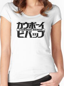 Cowboy Bebop - Logo Japanese Women's Fitted Scoop T-Shirt