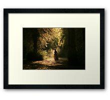 Forest Mystery Framed Print