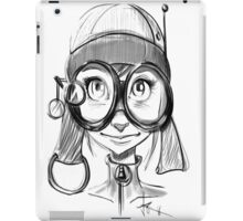 Steampunk Girl iPad Case/Skin