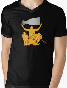 HBK Line Cup Mens V-Neck T-Shirt