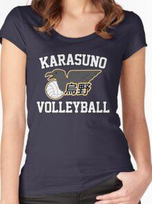 Haikyuu!! / Karasuno Volleyball Tee Women's Fitted Scoop T-Shirt