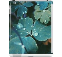Clear Clovers iPad Case/Skin