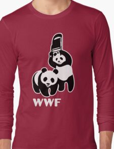 panda wwf Long Sleeve T-Shirt