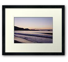 Krete Island landscape Framed Print