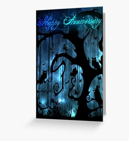 Fairytale Anniversary Card ~ Eartheerian Enchanted Forest Greeting Card