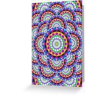 Mandala Psychedelic Visions Greeting Card
