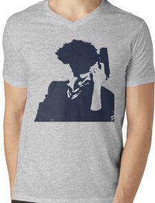 Cowboy Bebop - Spike Knockout Mens V-Neck T-Shirt