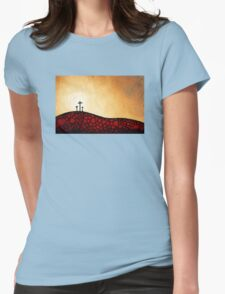 Forgiven - Christian Art By Sharon Cummings Womens Fitted T-Shirt