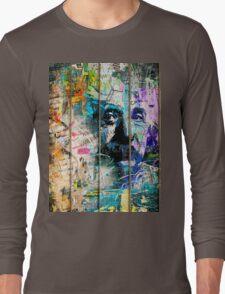 Artistic I - Albert Einstein Long Sleeve T-Shirt