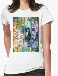 Artistic I - Albert Einstein Womens Fitted T-Shirt