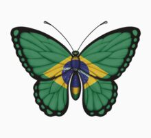 Brazilian Flag Butterfly by Jeff Bartels