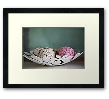 Simply chic ... Framed Print