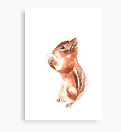 Chipmunk Wizard Canvas Print