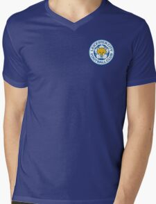 Leicester City Football Club - The Foxes - EURO 2016 UEFA Mens V-Neck T-Shirt