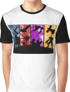 Cowboy Bebop - Group Colors Graphic T-Shirt