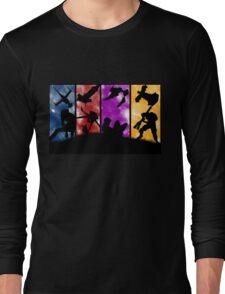Cowboy Bebop - Group Colors Long Sleeve T-Shirt