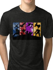 Cowboy Bebop - Group Colors Tri-blend T-Shirt