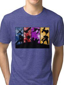 Cowboy Bebop - Group Colors Tri-blend T-Shirt