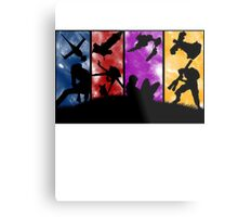 Cowboy Bebop - Group Colors Metal Print