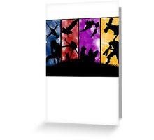Cowboy Bebop - Group Colors Greeting Card
