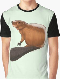 Beaver 1 Graphic T-Shirt