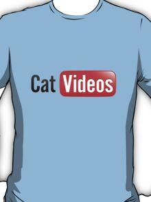 Cat Videos (YouTube Parody) T-Shirt
