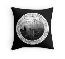 Modern Vampires of the City (White) Throw Pillow  Throw Pillow
