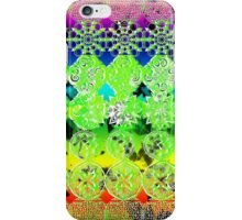 Mandala effect psychedelic take album art  iPhone Case/Skin