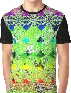 Mandala effect psychedelic take album art  Graphic T-Shirt