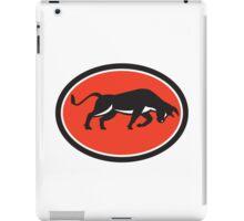 Raging Bull Attacking Charging Retro iPad Case/Skin