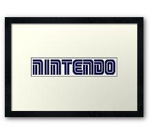 Nintendo - Sega Framed Print