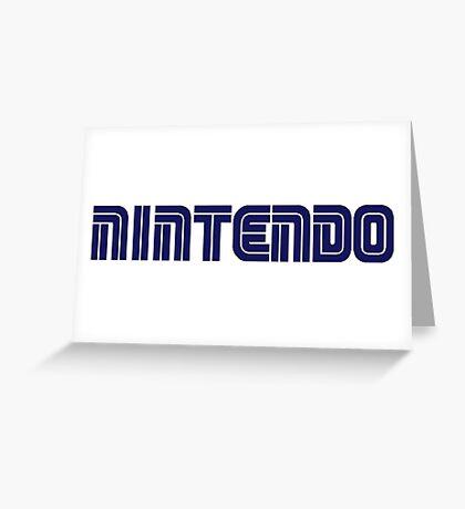 Nintendo - Sega Greeting Card