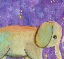 Elephant Girl--Inner Child Sticker