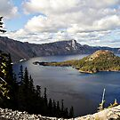 Crater Lake - Intense blue waters and spectacular views by Christine Till  @    CT-Graphics