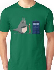 Totoro Doctor Who Unisex T-Shirt