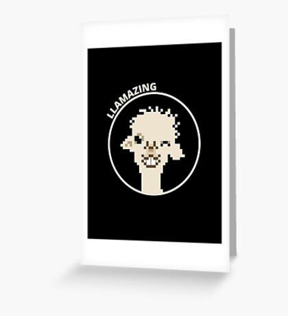 You're llamazing! Greeting Card