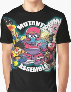 Mutants Assemble  Graphic T-Shirt