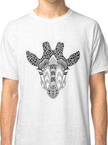 Abstract Giraffe Classic T-Shirt