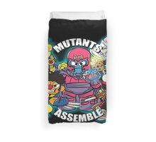 Mutants Assemble  Duvet Cover